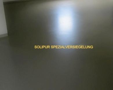 Solipur Spezial Versiegelung Gegen Weichmacher Auf Garagenboden